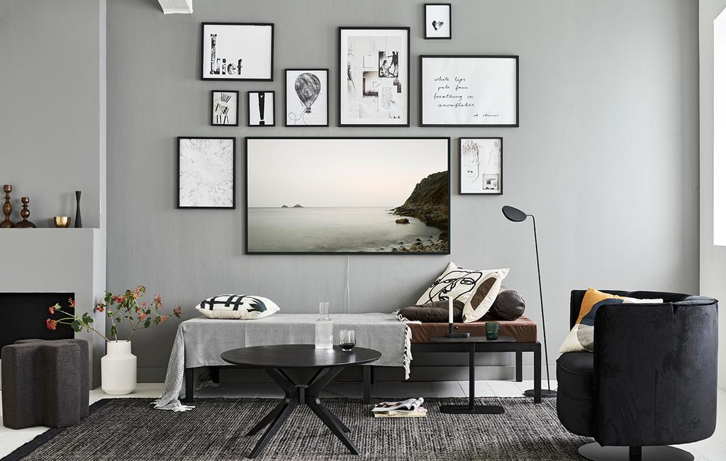 Gezocht: lege muur voor een televisie - Samsung The Frame