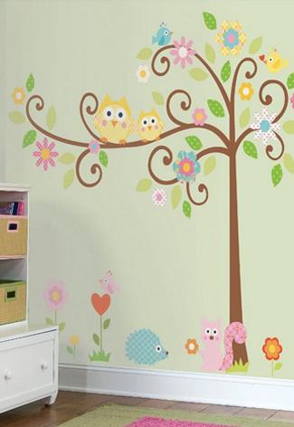 muursticker babykamer