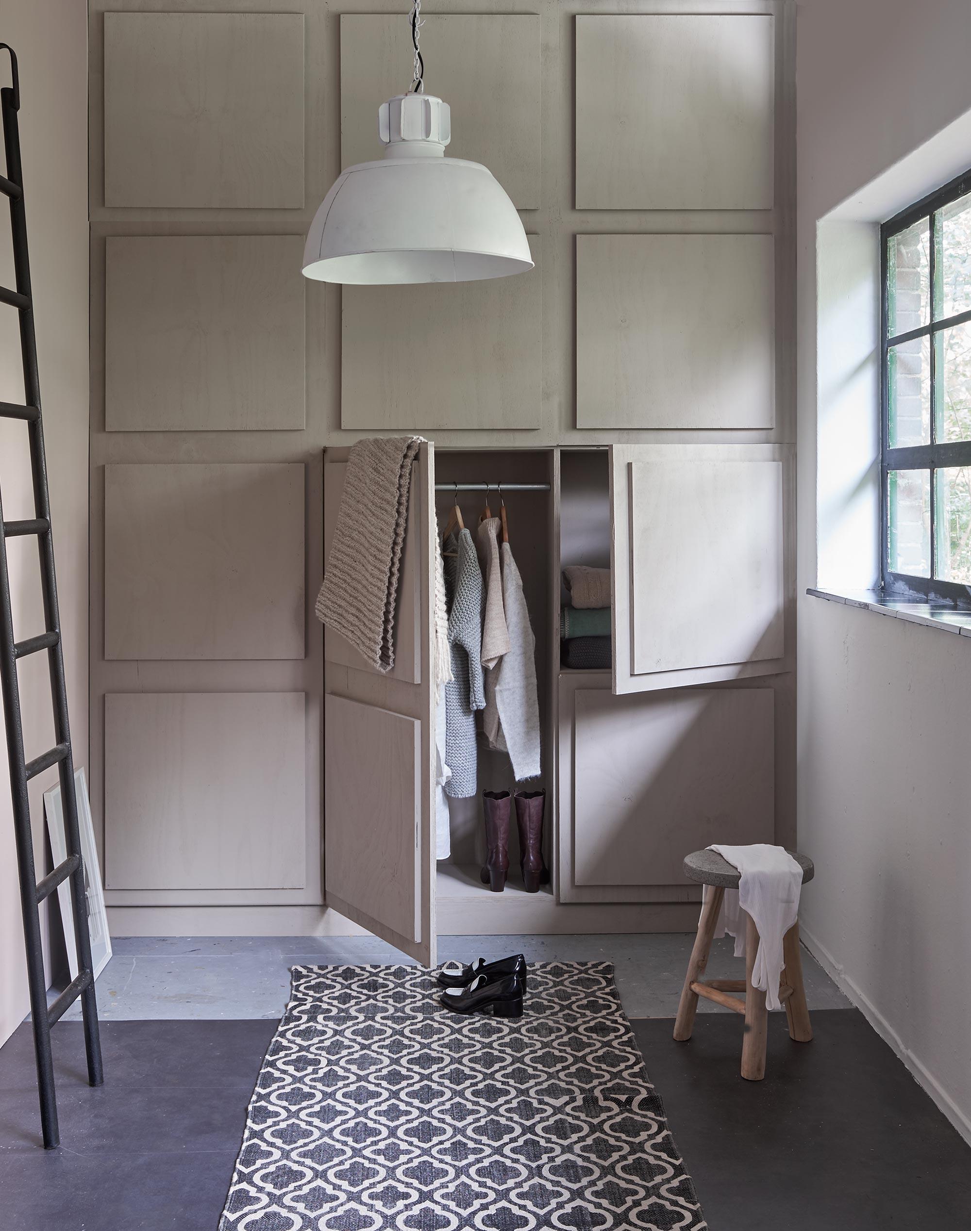 slaapkamer styling neutraalkleurige kast