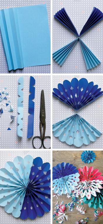 papier bloemen diy
