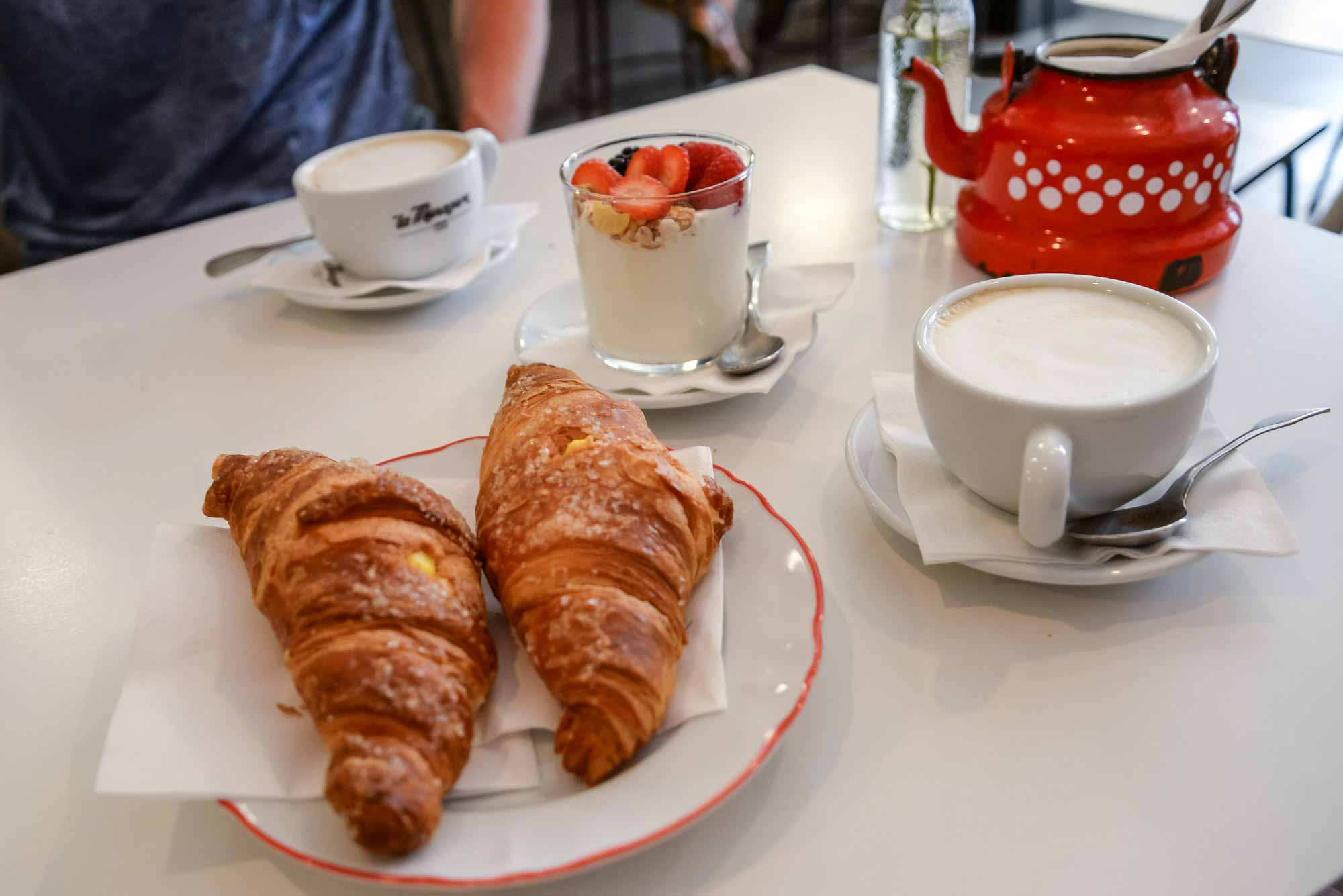 remade with love restaurant croissant