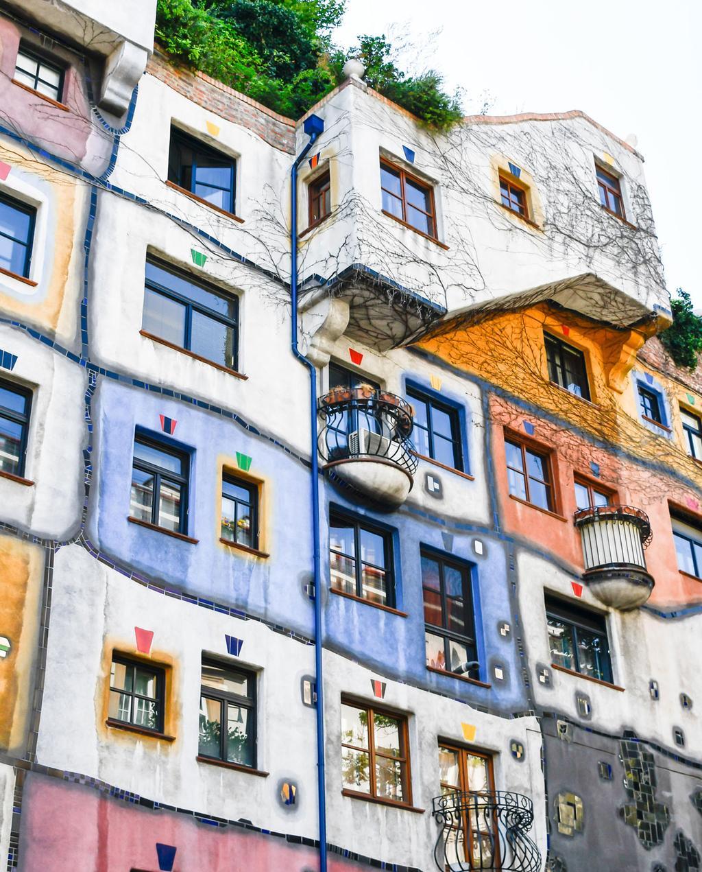 vtwonen 12-2019 | citytrip hotspot wenen voordeel citytrip Hundertwasserhaus