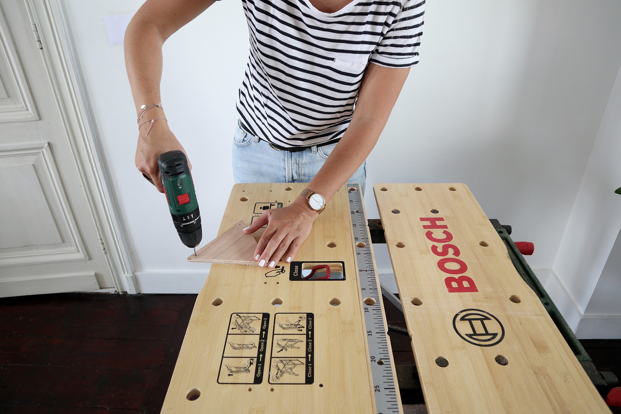 DIY houten slinger