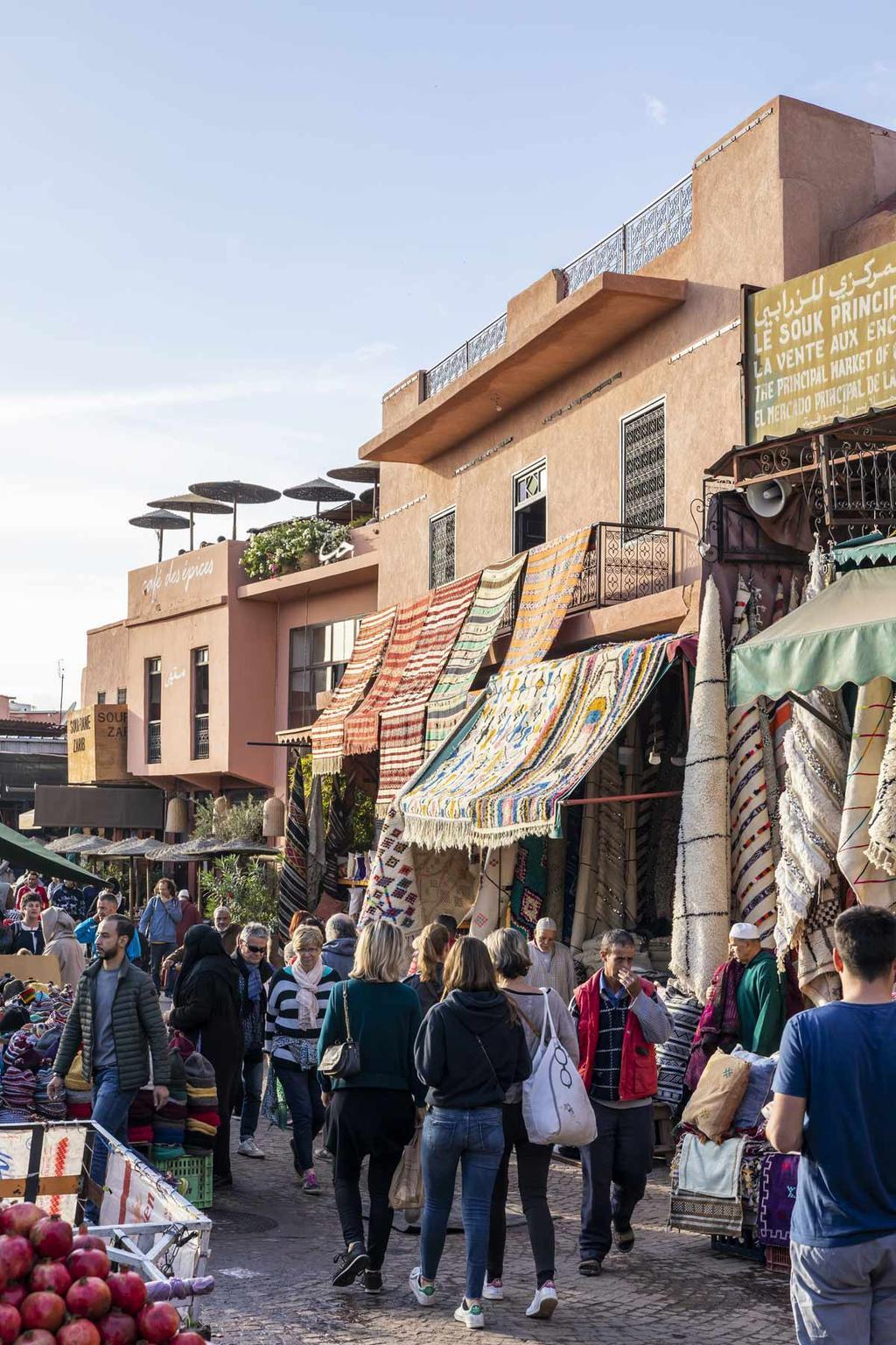 Marrakech vtwonen citytrip markt
