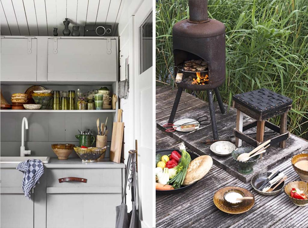 De keuken van stylist Marianne Luning