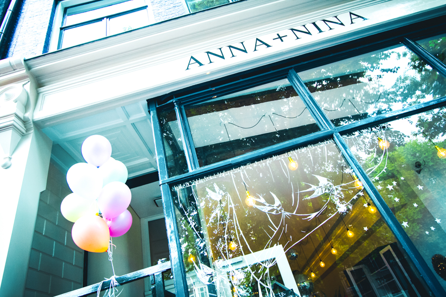 etalage Anna + Nina