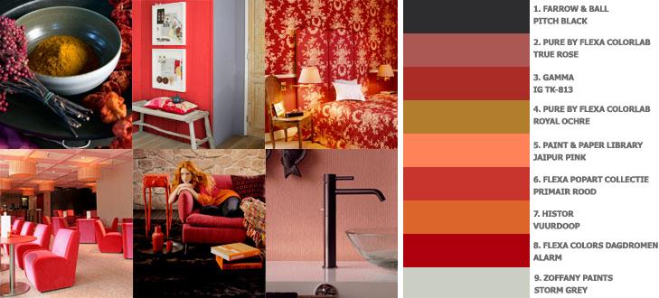 Kleurthema Well Read (herfst/winter 2009)