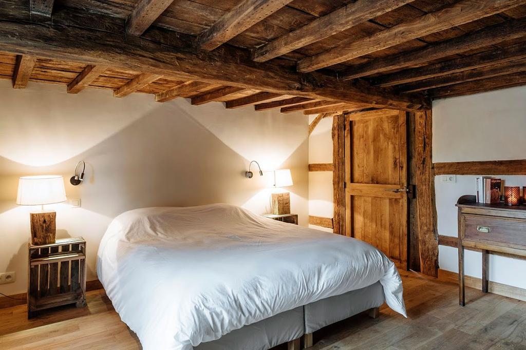 Slaapkamer in Gîte du Chapy Wancennes