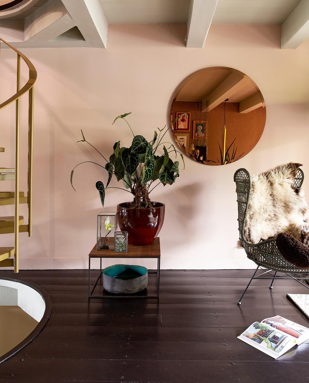 vtwonen 1-2020 | Binnenkijker in een grachtenpand in Delft zithoek
