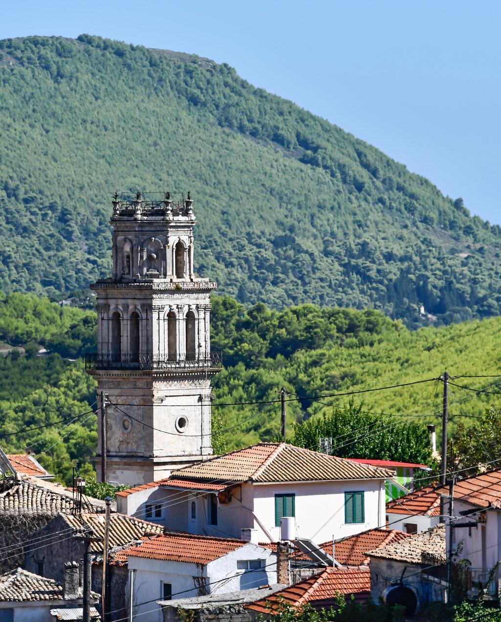 vtwonen 1-2020 | Trip Zakynthos kerk bovenaanzicht