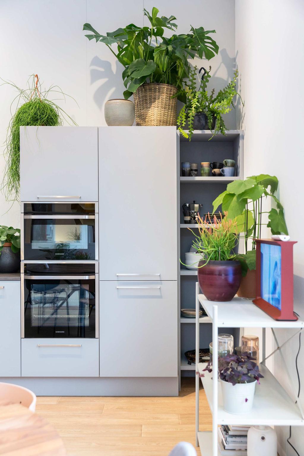 Keuken met Samsung apparatuur