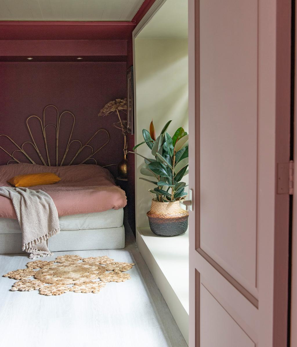 Roze slaapkamer | vtwonen 01-2021