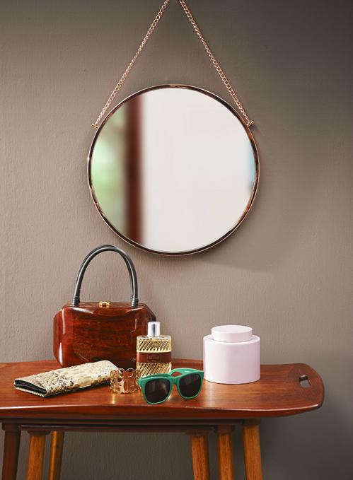 bijzettafel spiegel