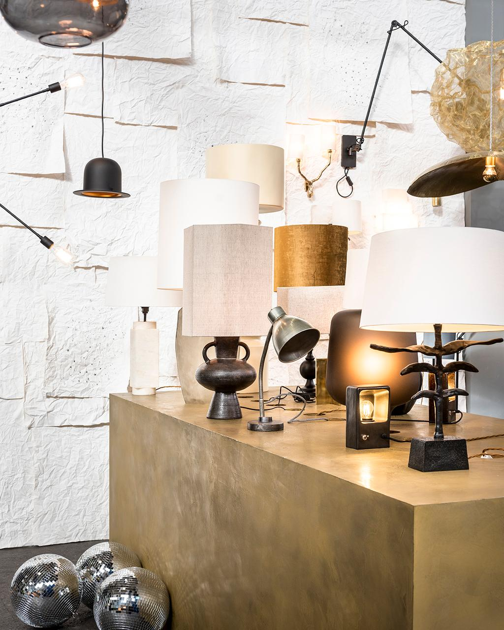De lampen shopping in het vtwonen huis op de vt wonen&design beurs.