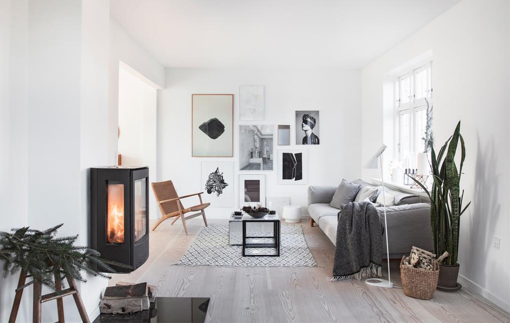 Winterhuis in Kopenhagen | woonkamer | vtwonen 13-2020