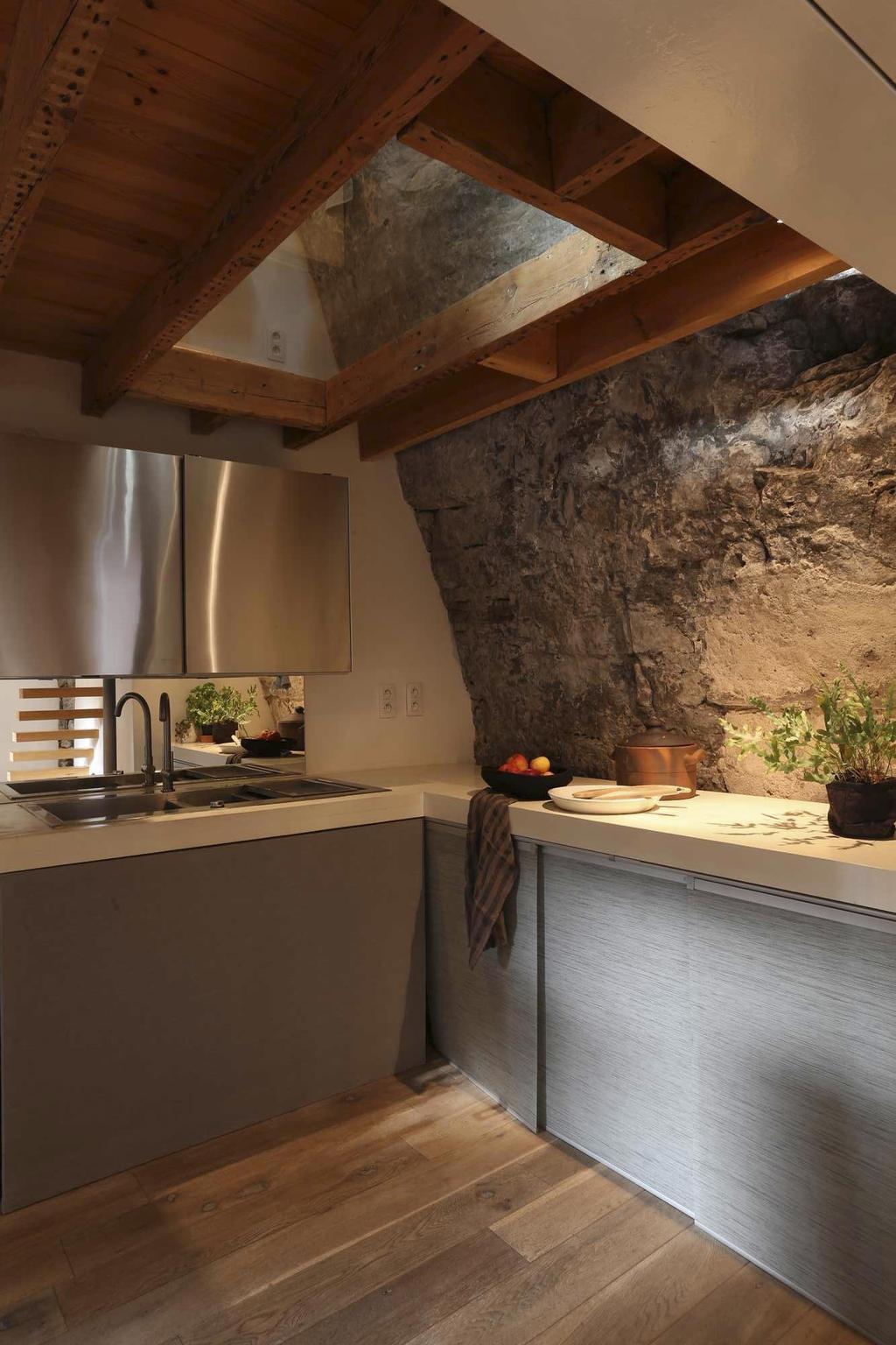 keuken rots hout