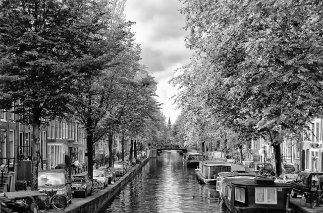 De bloemgracht in Amsterdam
