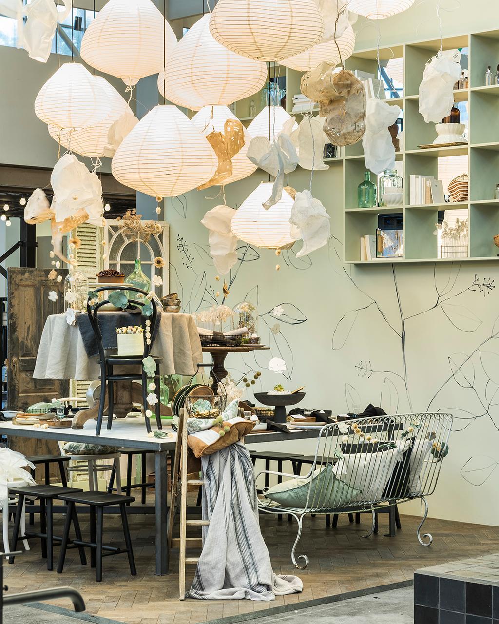 De eetkamer in het vtwonen huis op de vt wonen&design beurs.