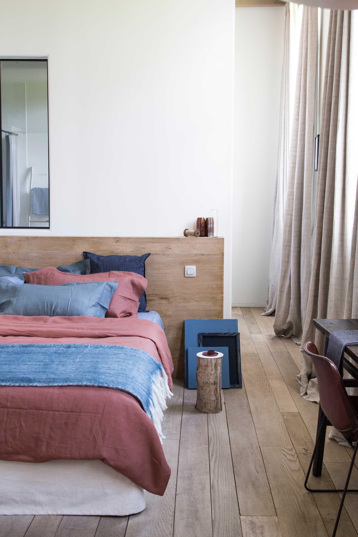 lit bleu rouge