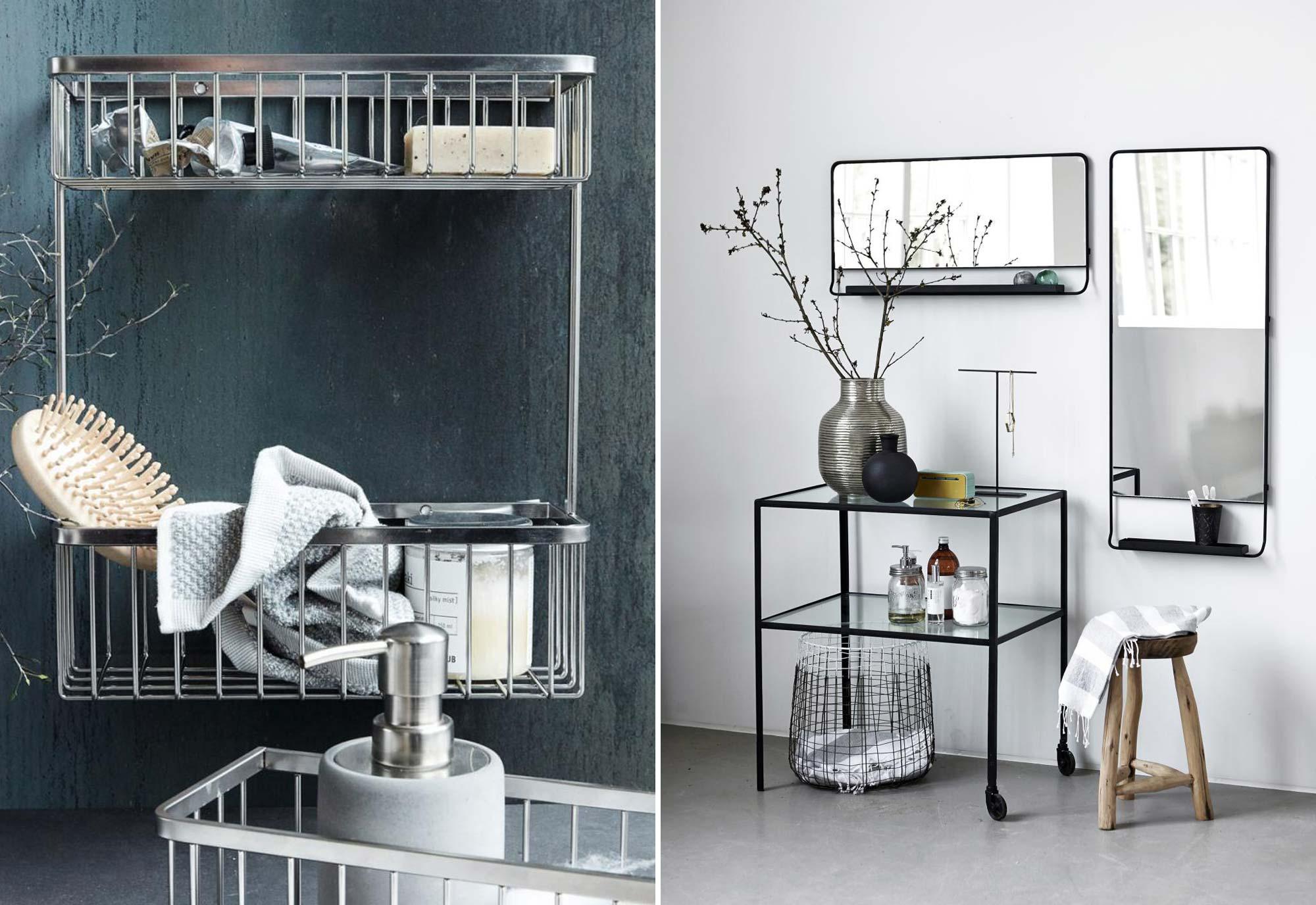 Opbergrekken - Badkamer - Musthaves voor een mooie badkamer