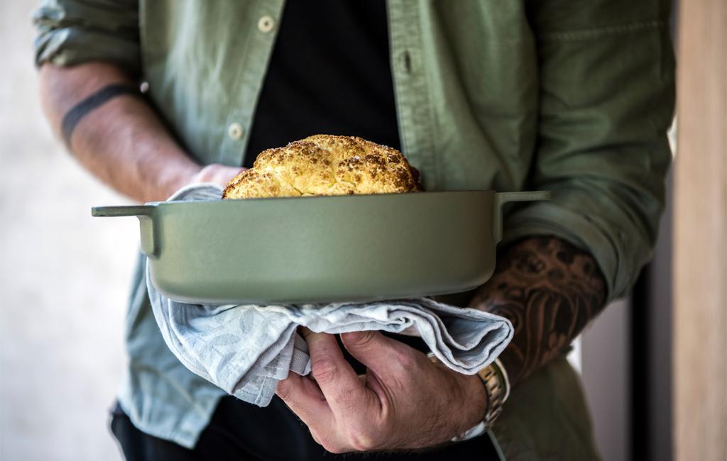 Serax groene pan | vtwonen feestkalender 2020