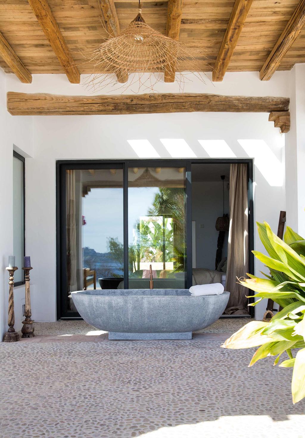 betonnen badkuip