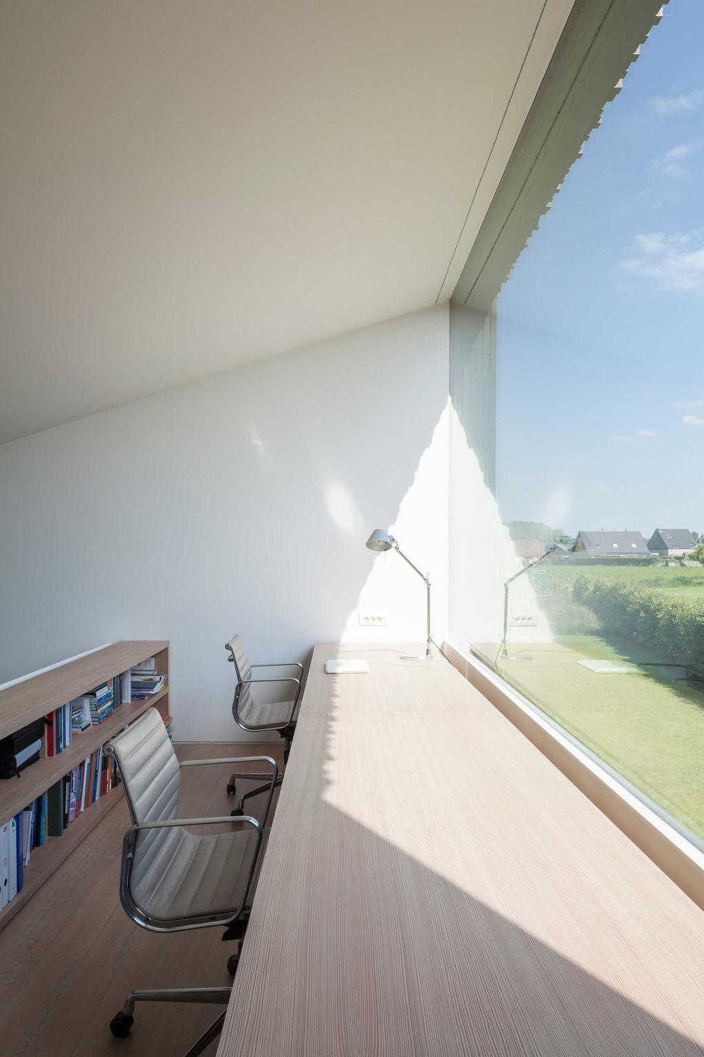 uitzicht bureau raam