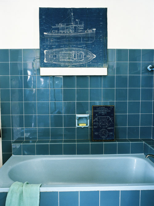 Hoogglans badkamertegels