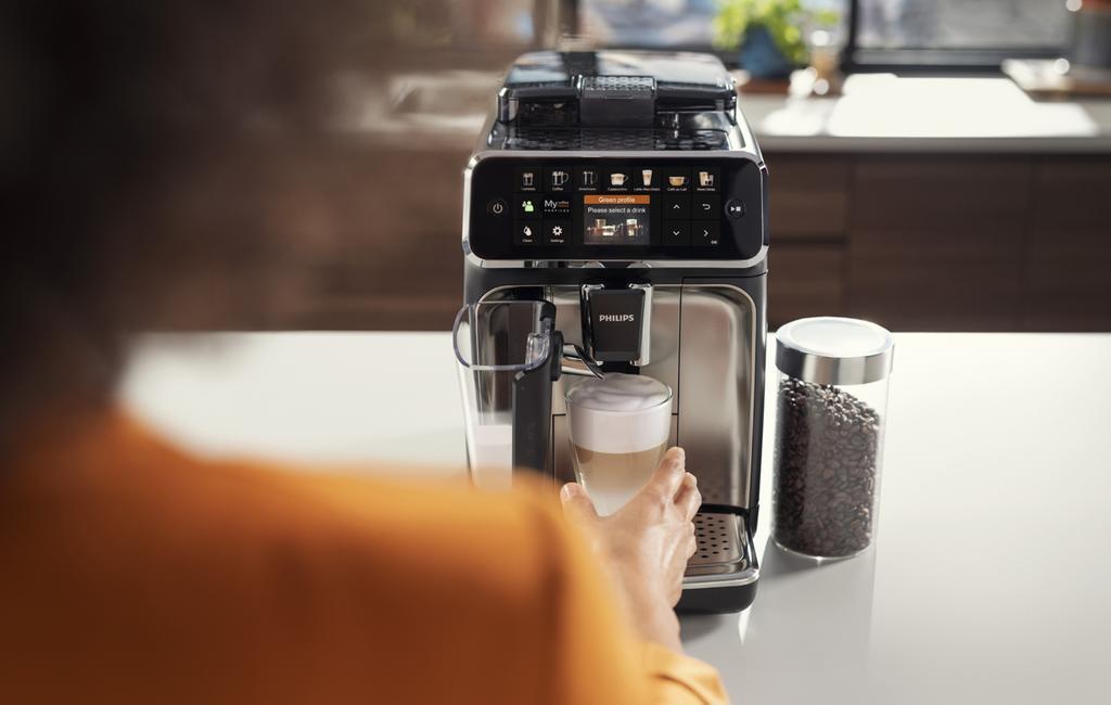 Met de Philips LatteGo maak je maar liefst 12 verschillende koffievariaties.