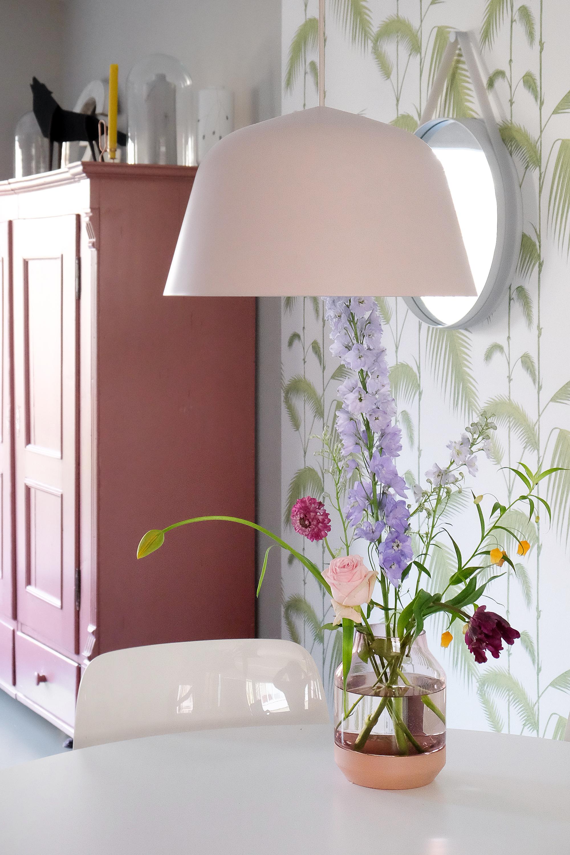Roze designlamp Ambit