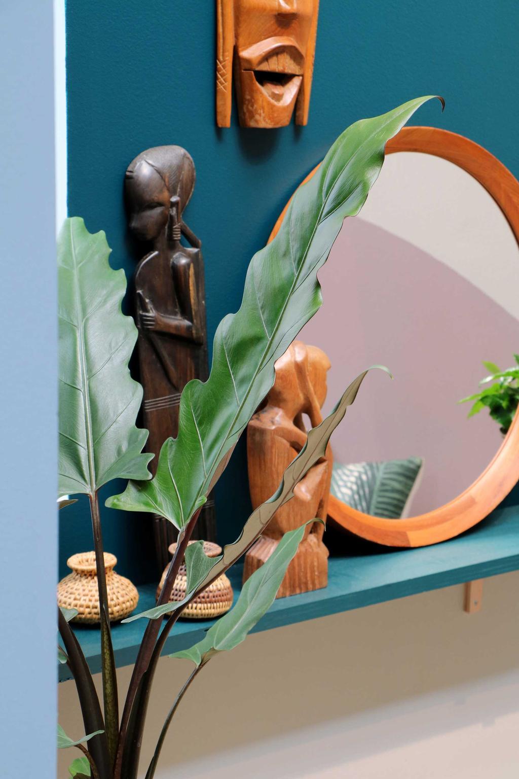 Etnische slaapkamer spiegel My Attic