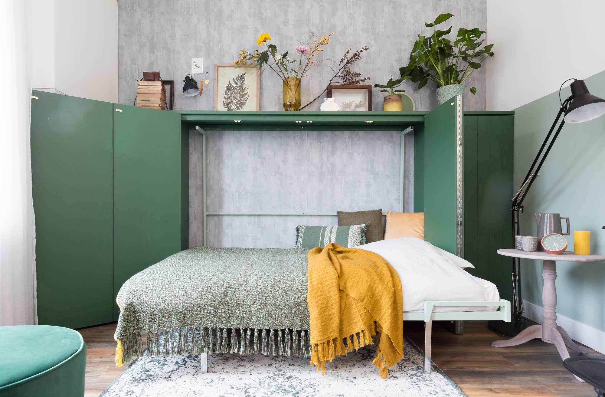 bed in kast