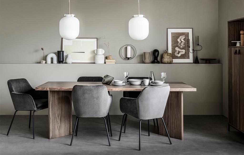 Eettafel | vtwonen meubel collectie | vtwonen 11-2020
