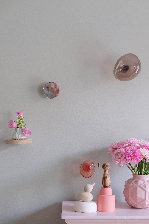 Glazen kledinghaken Bubbles van Petite Friture