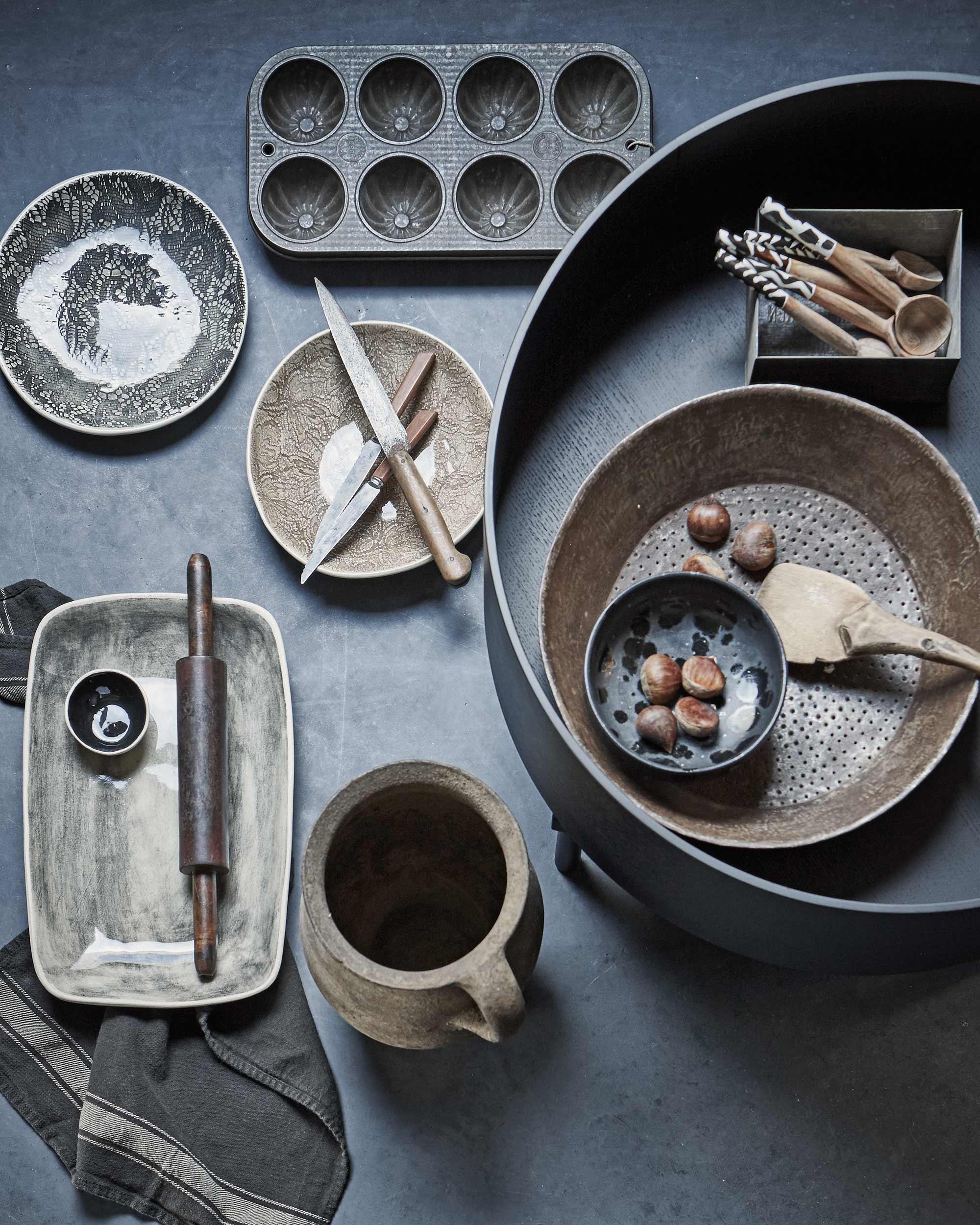 aardetinten keukengerei