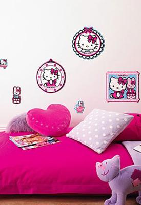Hello Kitty kinderkamer