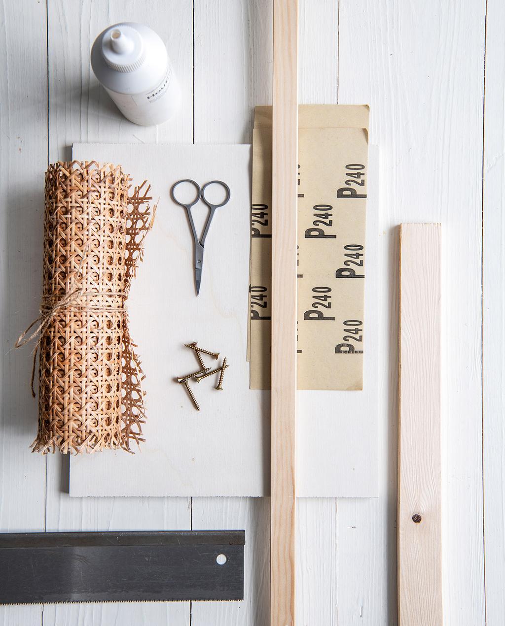 vtwonen 02-2021 | houten plankje met webbing