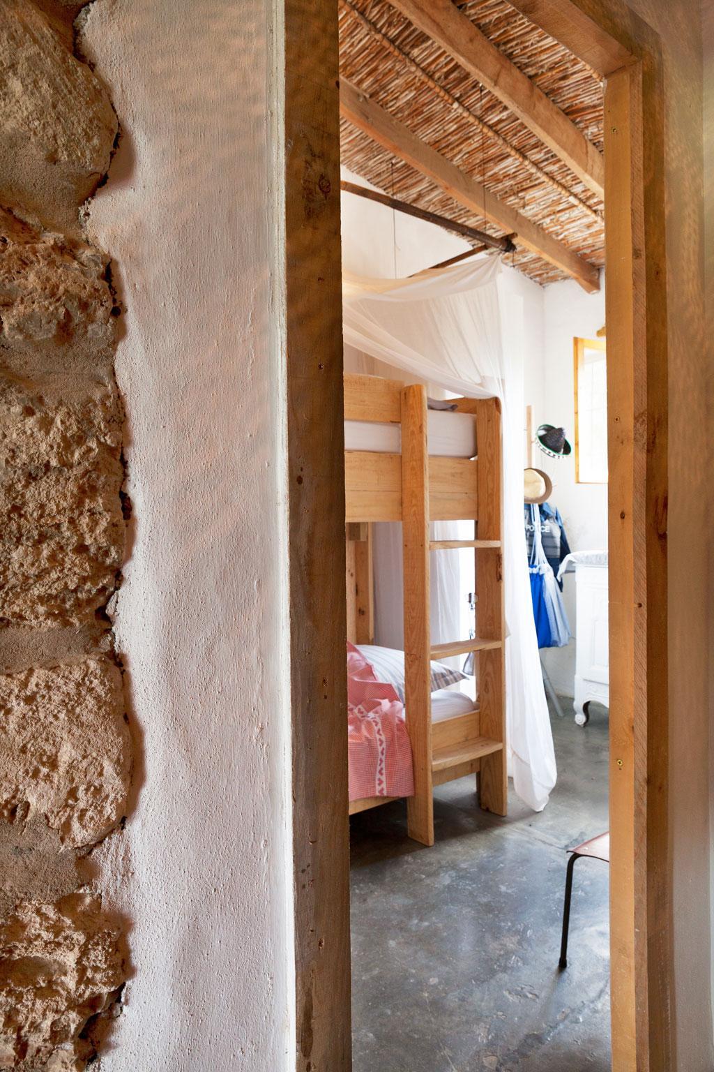 houten stapelbed