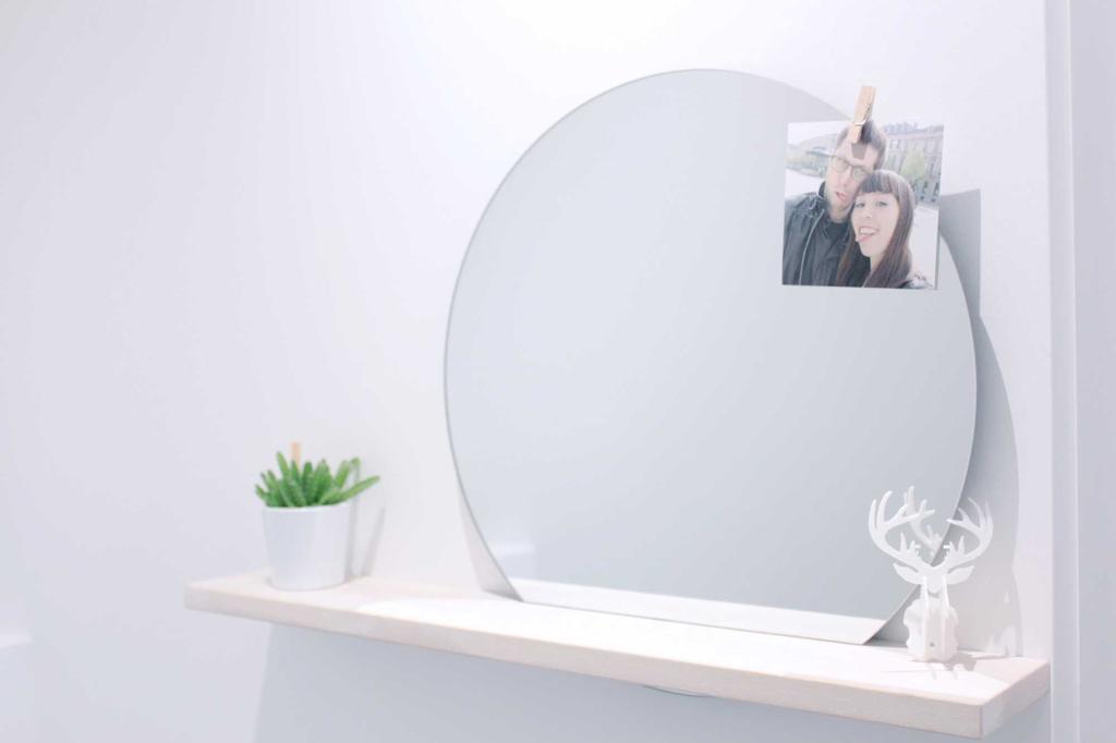 kleinste kamertje diy spiegel