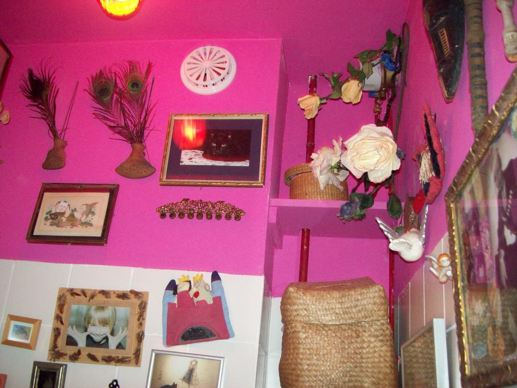 roze muur