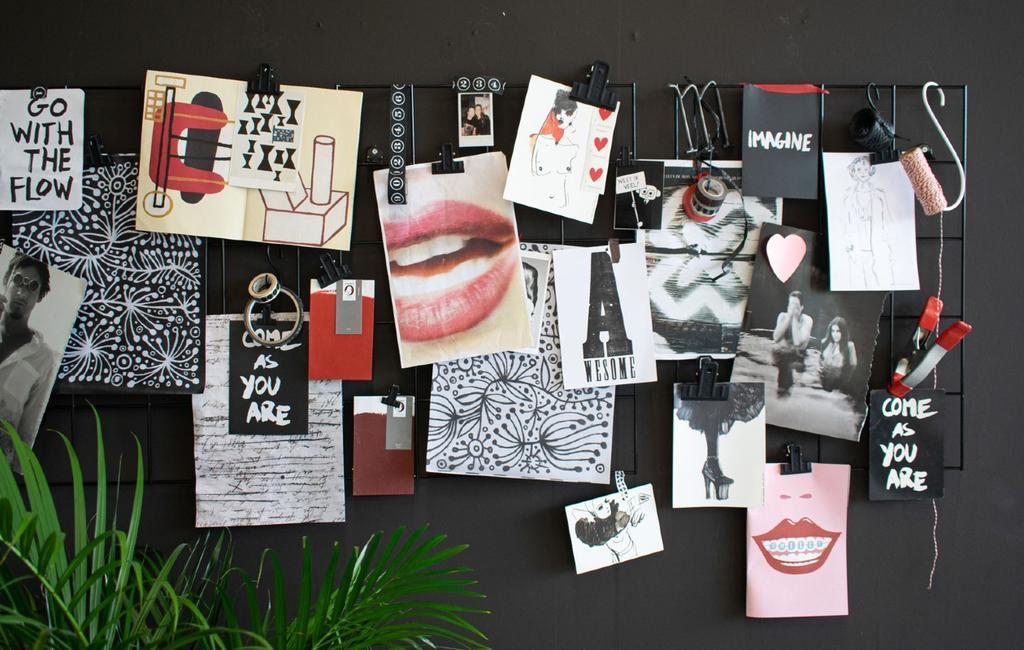 moodboard wandrek quotes kaarten styling marianne luning
