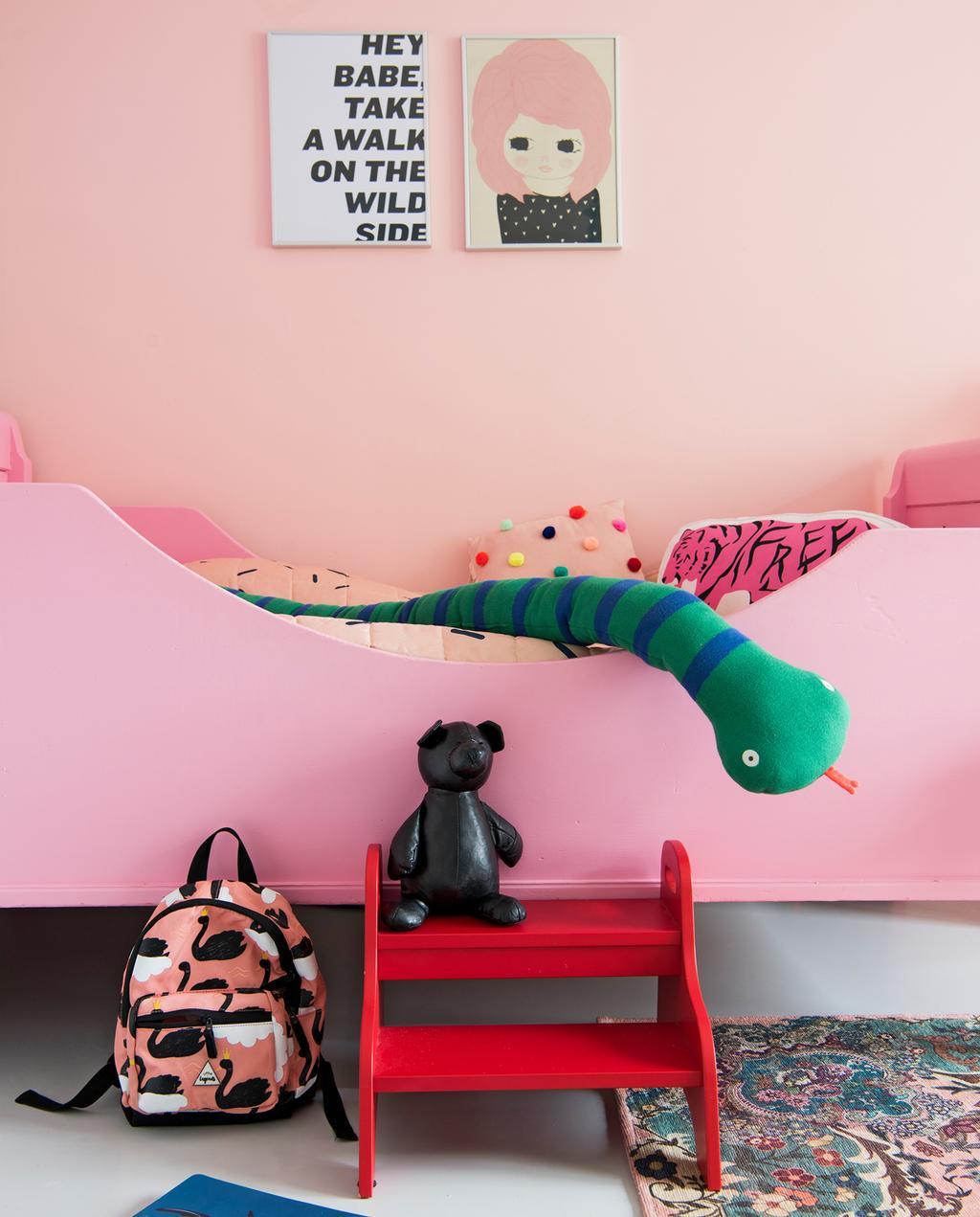 kinderslaapkamer roze