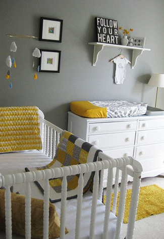 kleuren voor de babykamer