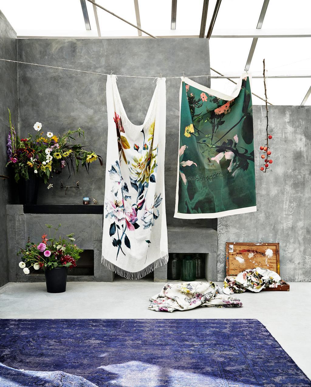 vtwonen 04-2018 | styling Marianne Luning, fotografie Fiona Ruhe | 7x stylen met bloemen in huis