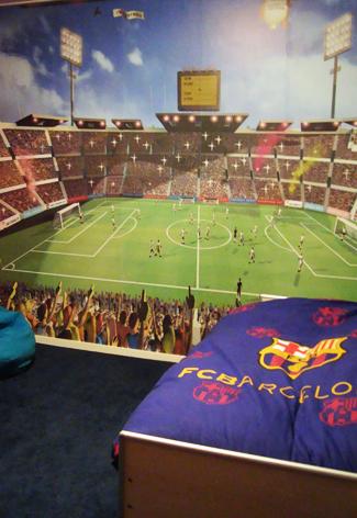 Kinderkamer FC Barcelona