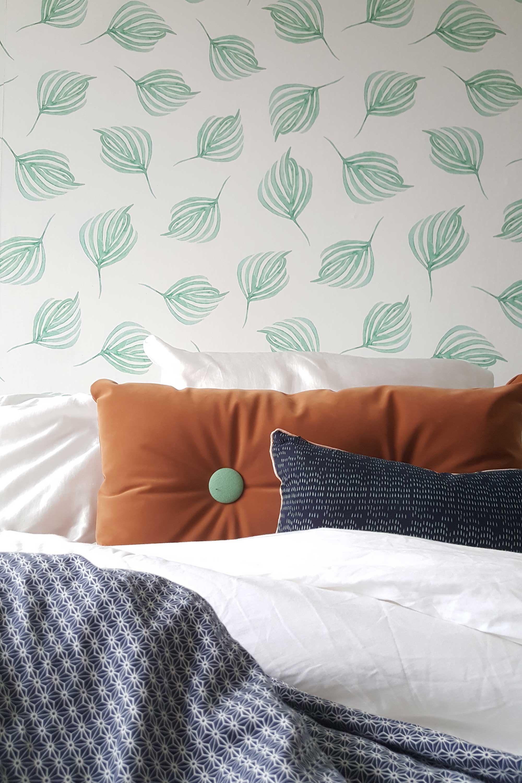 Slaapkamer van Blogger Mamoesjka - kussens