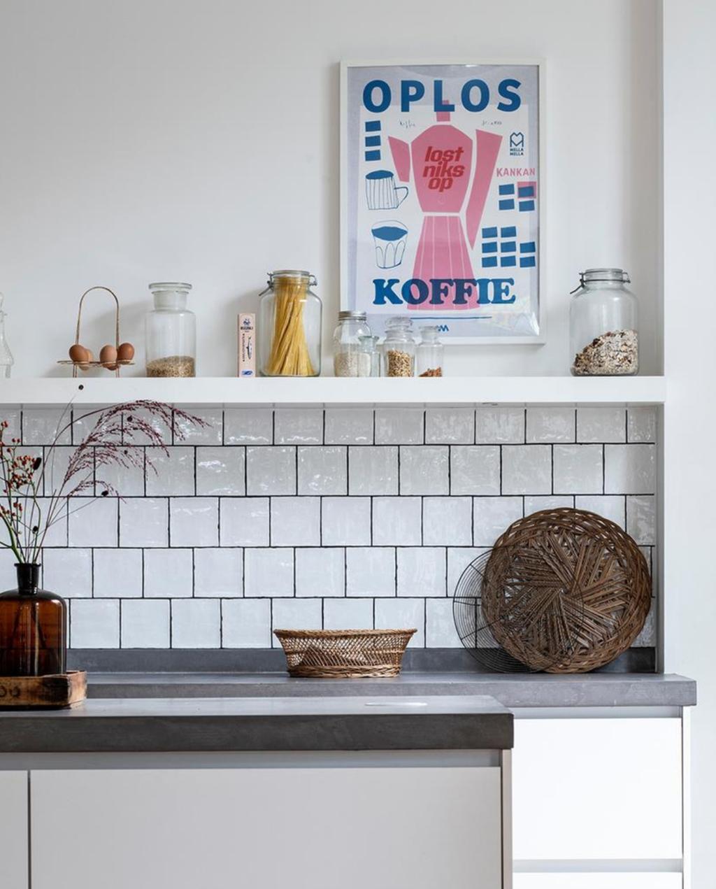 keuken   vtwonen   meer kleur   tegels   print   poster   koffie