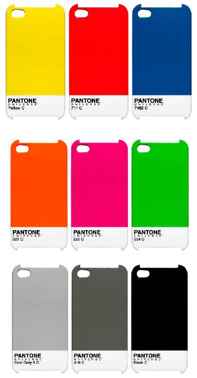 Pantone kleuren om je iPhone