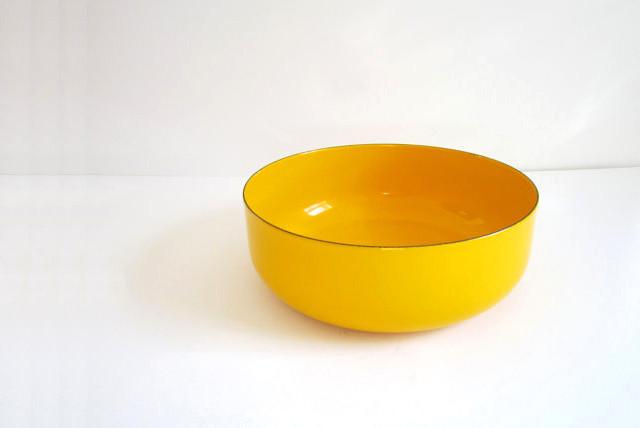 geel bakje