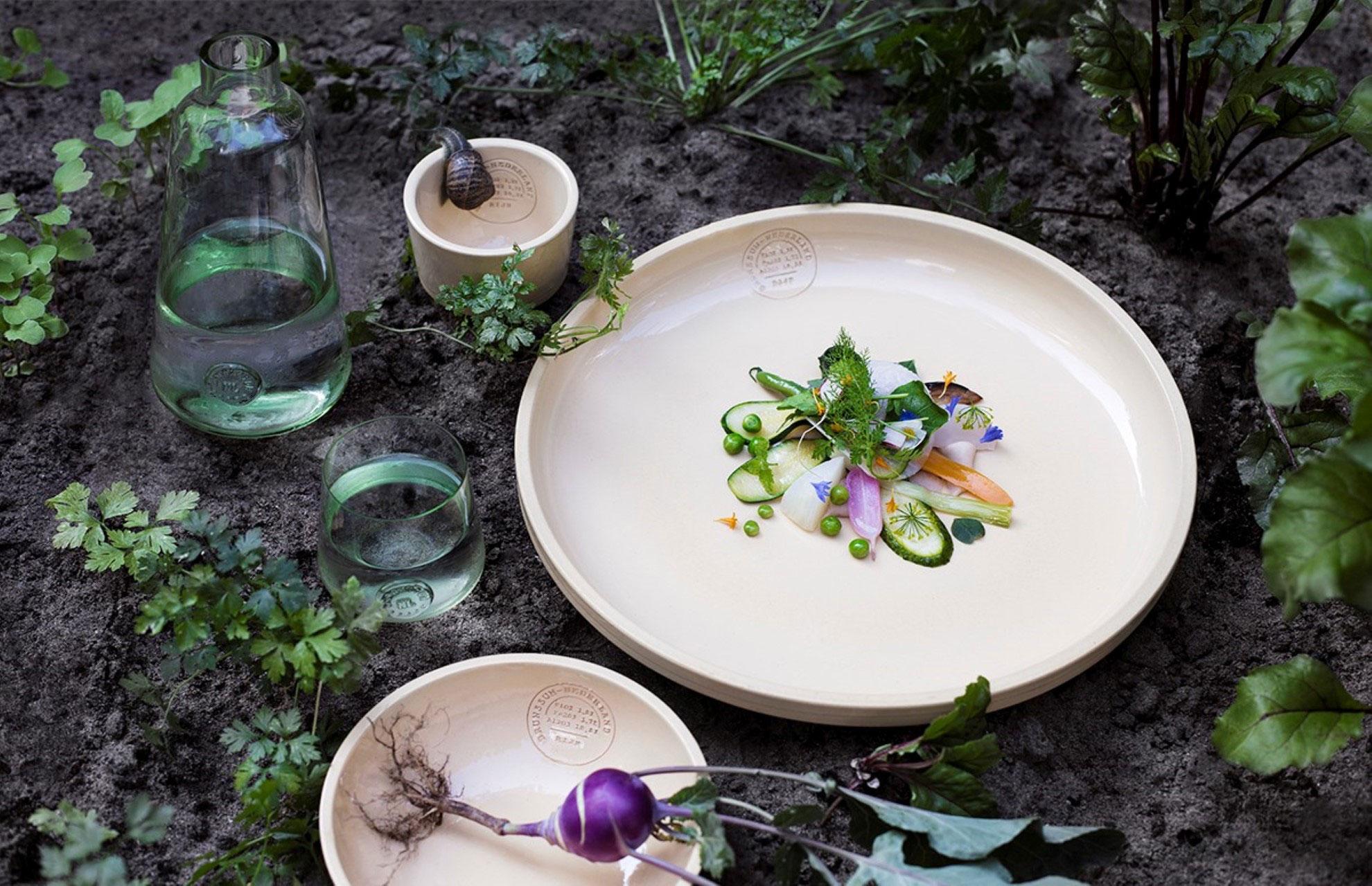 from earth to table door atelier NL en Dutch Cuisine
